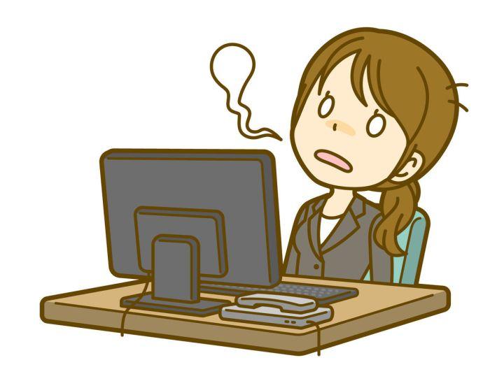 ブログが停止したことで魂が抜けたように脱力するさま