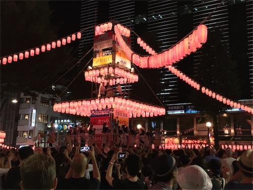 恵比寿の盆踊り2016年