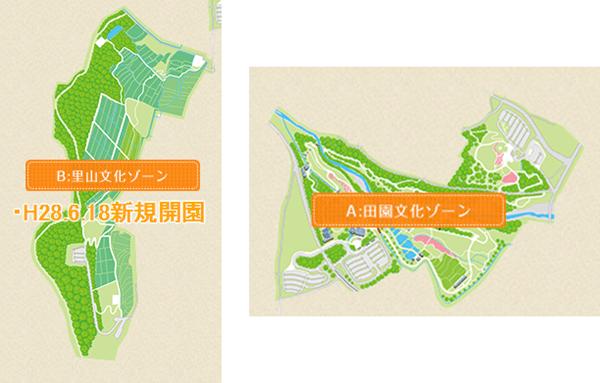 堀金・穂高地区マップ
