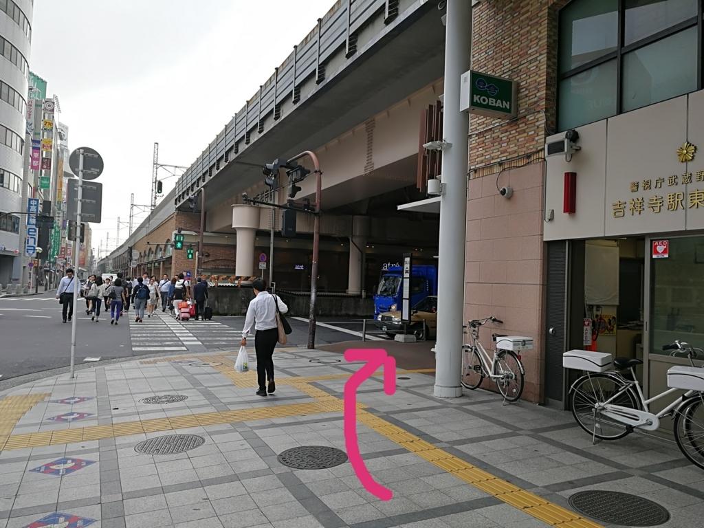 吉祥寺駅東口交番前
