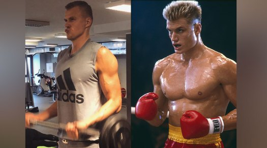 Basketball Star Kristaps Porzingis is Looking Absolutely Swole in this New Photo