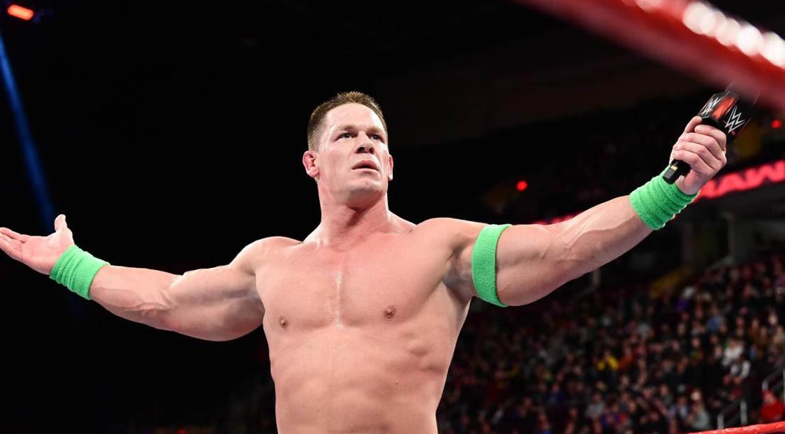 John Cena Taunts Undertaker on WWE Monday Night Raw ...