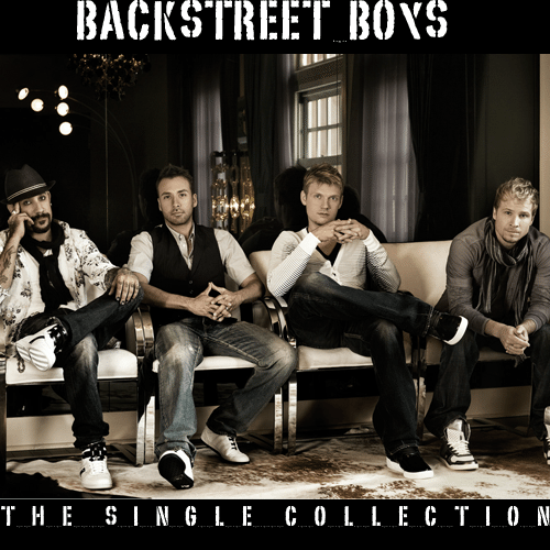 Backstreet Boys - The Singles Collection (FanMade Album Cover) Made by Asad