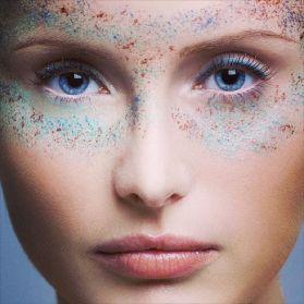 Kalamakeup creative water splashing color makeup