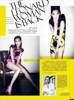 Kalamakeup makeup and hair for model Angie for Flash On Magazine, Hong Kong