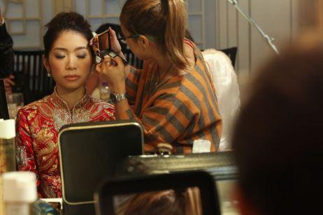 Kalamakeup wedding makeup and hair styling for Alice