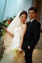 Kalamakeup for bride Alice's wedding at Grand Hyatt, H.K.