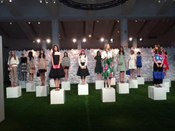 Kate Spade fashion show