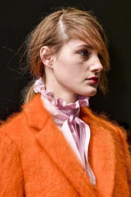 Milan Fashion Week MSGM show 2015 makeup by Kalam