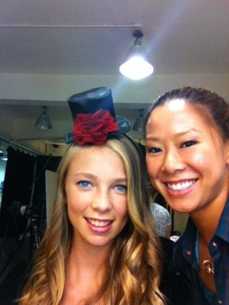 Kalamakeup makeup and hair styling for kids' fashion shoots