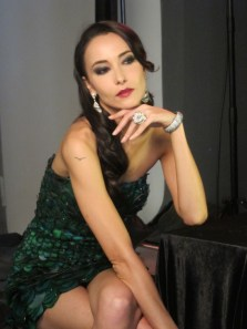 Kalamakeup makeup and hair styling for Lisa S. fashion shoots