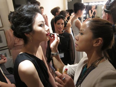 Kalamakeup makeup & hair styling for fashion shows for Chow Tai Fook