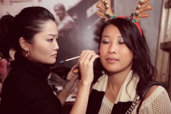 Kalamakeup makeup & hair styling for fashion shows for Sassy Girls HK