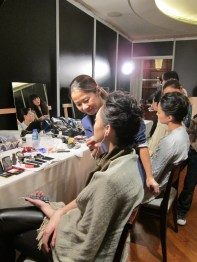 Kalamakeup makeup & hair styling for fashion shows for Valentino
