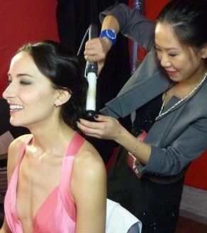 Kalamakeup makeup & hair styling for Lisa S. at Asia Film Awards Hong Kong