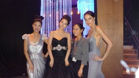 Kalamakeup makeup & hair styling for Lisa S. at Asia Film Awards Hong Kong
