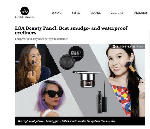 Lifestyle Asia on eyeliner