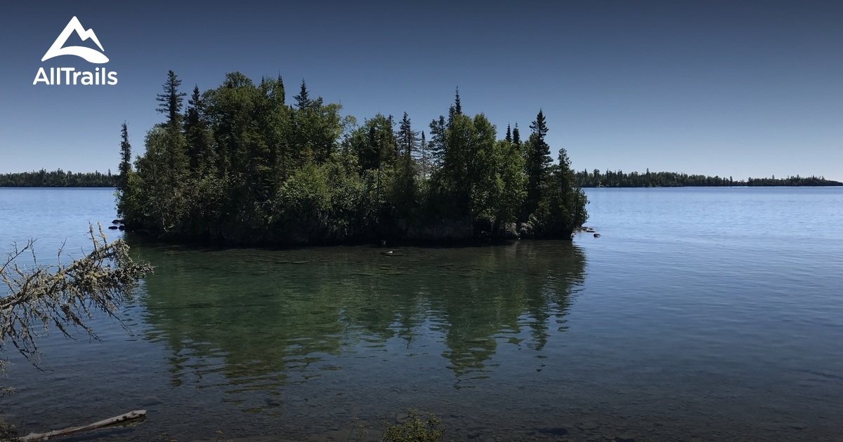 Best Trails In Isle Royale National Park Alltrails