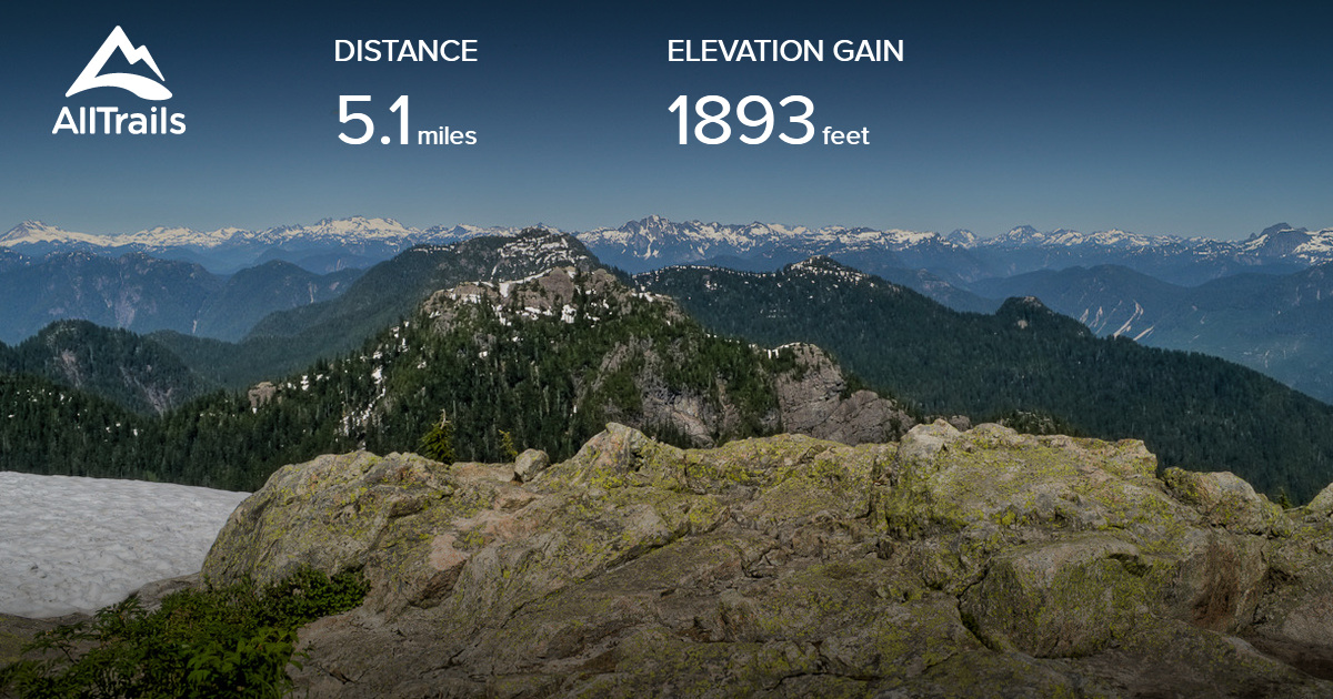 Seymour has the highest base elevation of vancouver's three main ski hills (the others being grouse and cypress),. Mount Seymour Trail British Columbia Canada Alltrails