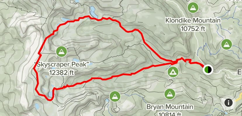 Lost lake featured route 4¼mi roosevelt nf. Devils Thumb Pass And King Lake Trail Colorado Alltrails