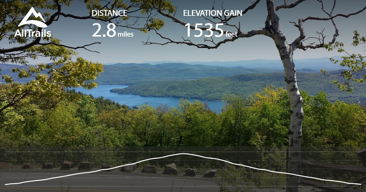 Drive up or hike trails for views of lake george ny & adirondacks. Prospect Mountain Trail New York Alltrails