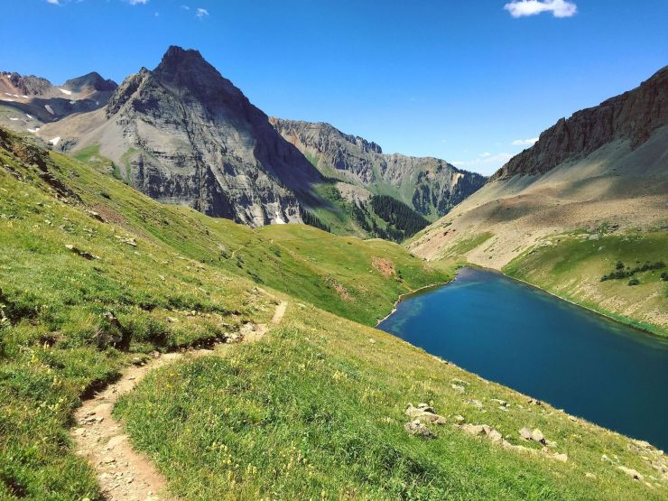 Blue Lakes Trail Colorado | Amazing Hiking Trails You Have to See to Believe