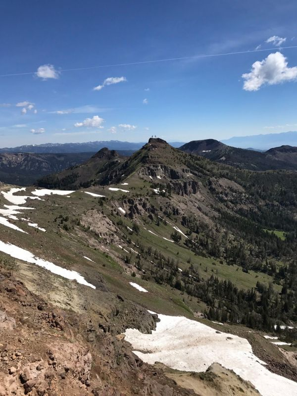 Buffalo Horn Pass from Tom Miner Campground - Montana ...