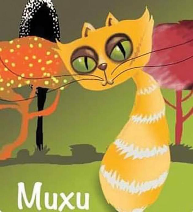 An illustration of Muxu, one of the protagonists of The Secret Garden. Photo: Lignin Stories/Facebook