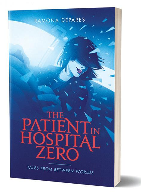 The Patient in Hospital Zero by Ramona Depares, published by Merlin Publishers. Cover art by Julian 'Julinu' Mallia.