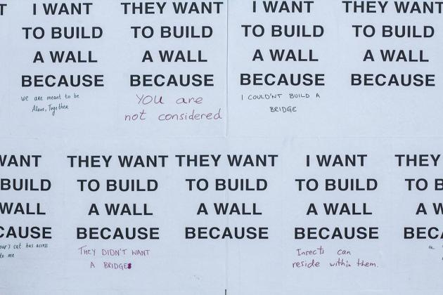 Wall on Walls by the collective