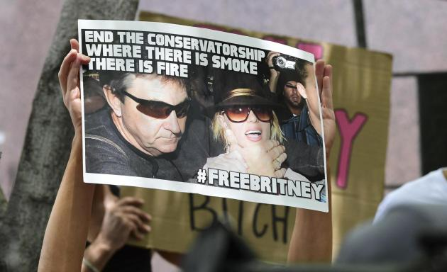 Spears urged a US judge on June 23 to end a controversial guardianship that has given her father control over her affairs since 2008. Photo: Fredric J. Brown/AFP