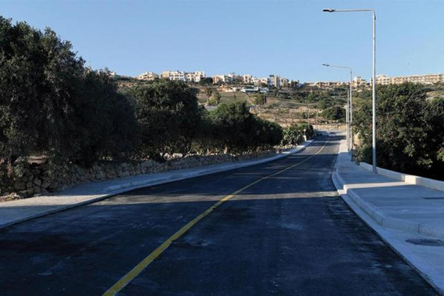The prime minister recently inaugurated St Anthony Street, in Għajnsielem. Photo: Clifton Fenech