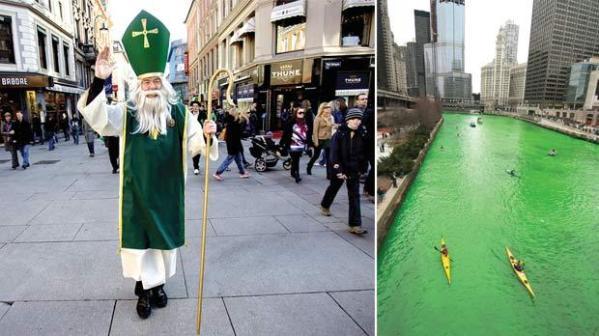 Jolly green celebrations