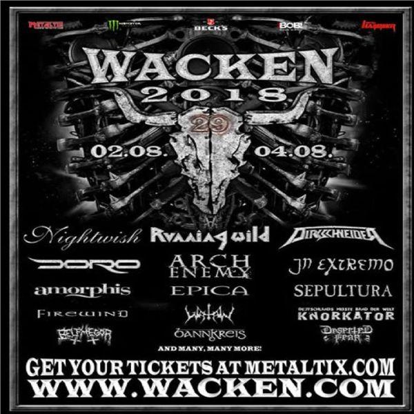 Wacken Open Air 2018 | Steinburg
