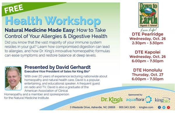Kapolei - Natural Medicine Made Easy: Allergy & Digestion ...