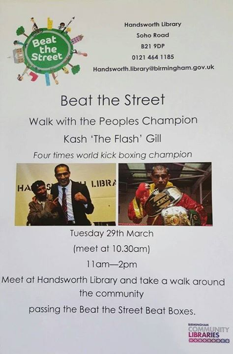 Beat The Street - Walk with the Peoples Champion at ...