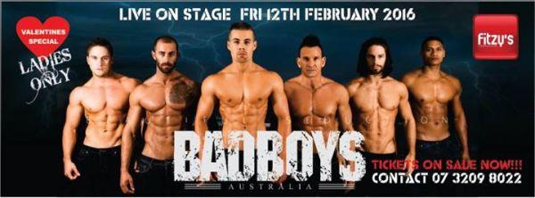 LADIES NIGHT OUT - BAD BOYS AUSTRALIA at Fitzys Loganholme ...