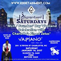 Signature Saturdays MlkFounders Day Weekend At Vapiano
