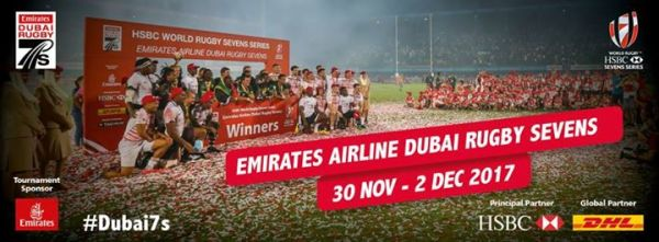 Emirates Airline Dubai Rugby Sevens at The Sevens Stadium ...