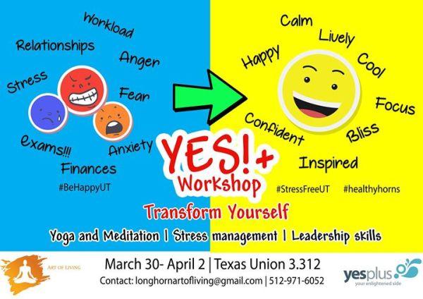 YES Plus Program Spring 2017, Texas Union, Austin, March ...