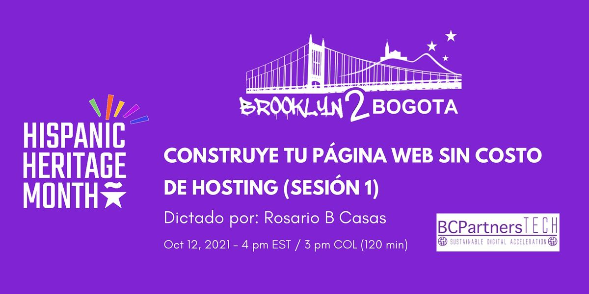 Subvención de asistencia para los costos de cierre 7. Construye tu página web SIN COSTO de hosting (Sesión 1