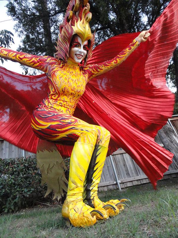 Fiery Phoenix Costume Adafruit Industries Makers