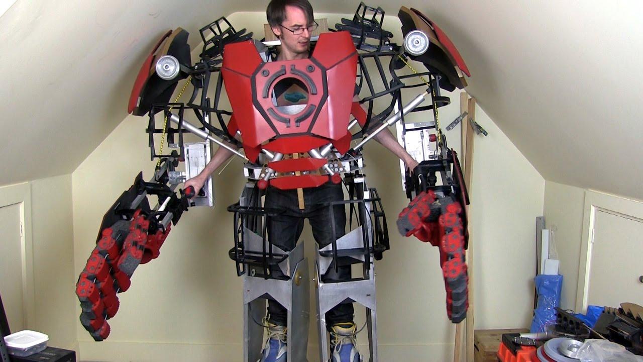 Iron Man Hulkbuster Cosplay Leg Opening Mechanism