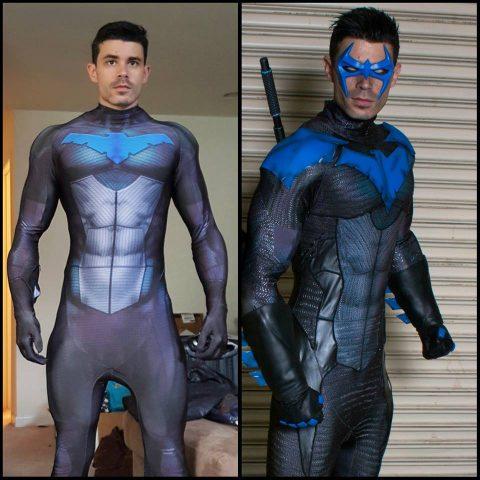 Nightwing Cosplay Deserving Of A Hero Adafruit