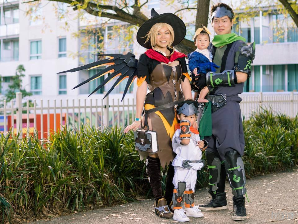 Overwatch Family Cosplay With Witch Mercy Adafruit