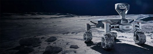 Google Lunar XPRIZE rover on the Moon