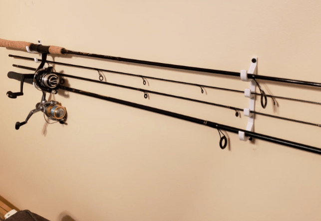 Fishing rod holder by wayneerman Thingiverse