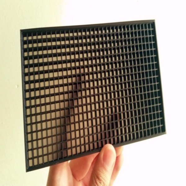 LED Matrix Diffuser Grid by MLEVee Thingiverse