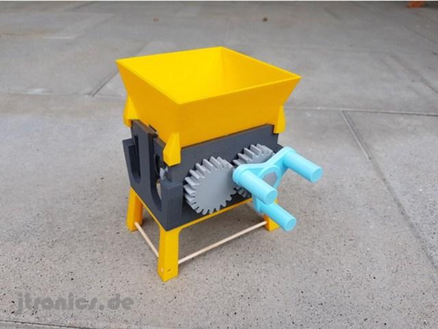 Jtronics 3ddruck shredder v8 05