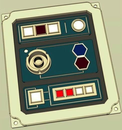 Star Wars Galaxy s Edge Panel V1 by Retrodalek Thingiverse
